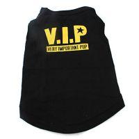 V.I.P. cotton tank shirt for dogs