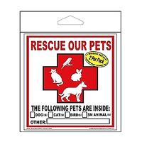 Pet Rescue Decals