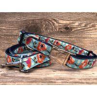 The California Poppy collar & leash collection
