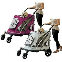 The Expedition No-Zip Pet Stroller - available in 2 colors