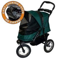 Jogger No-Zip Stroller - in Forest Green