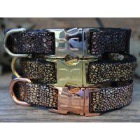 Monty Metallic Dog Collars