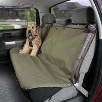 Waterproof Bench Pet Seat Cover - shown in Green