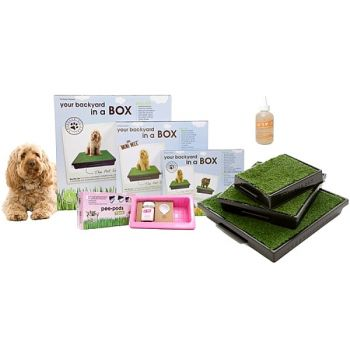 The Pet Loo system comes in 3 sizes