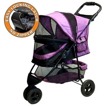 The No-Zip Special Edition Pet Stroller - in Orchid