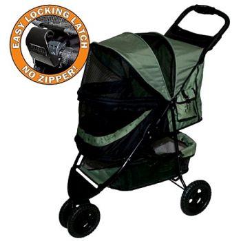 The No-Zip Special Edition Pet Stroller - in Sage
