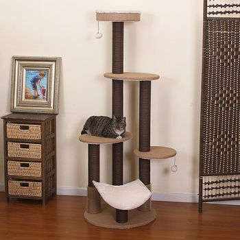 The Clement Cat Tree at home